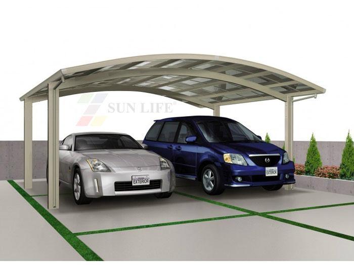 Modern Carport Diy : Modern easy assemble plastic carport with aluminum