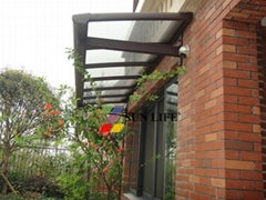 High Impact resistance awning canopy
