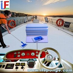Quality mop for Yachts and Boats Deck Brush Mop Cleaning Kit from lfsponge
