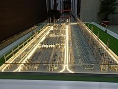 保定高壓變電站模型