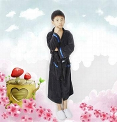 Boy  bathrobe pajamas