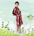 kids coral fleece pajamas