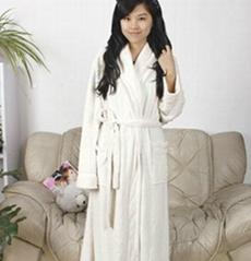 women coral fleece bathrobe