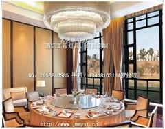 酒店餐廳水晶吊燈具