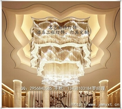 五星級豪華酒店水晶燈具
