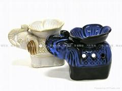 L26    花瓣象陶瓷香薰爐