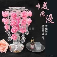 S29水滴玫瑰感应香薰灯