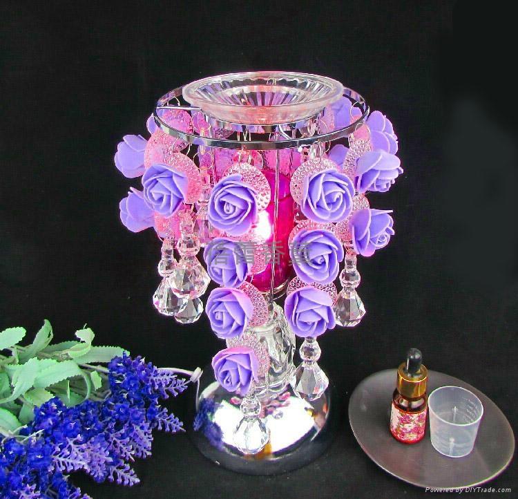 S29水滴玫瑰感應香薰燈 8