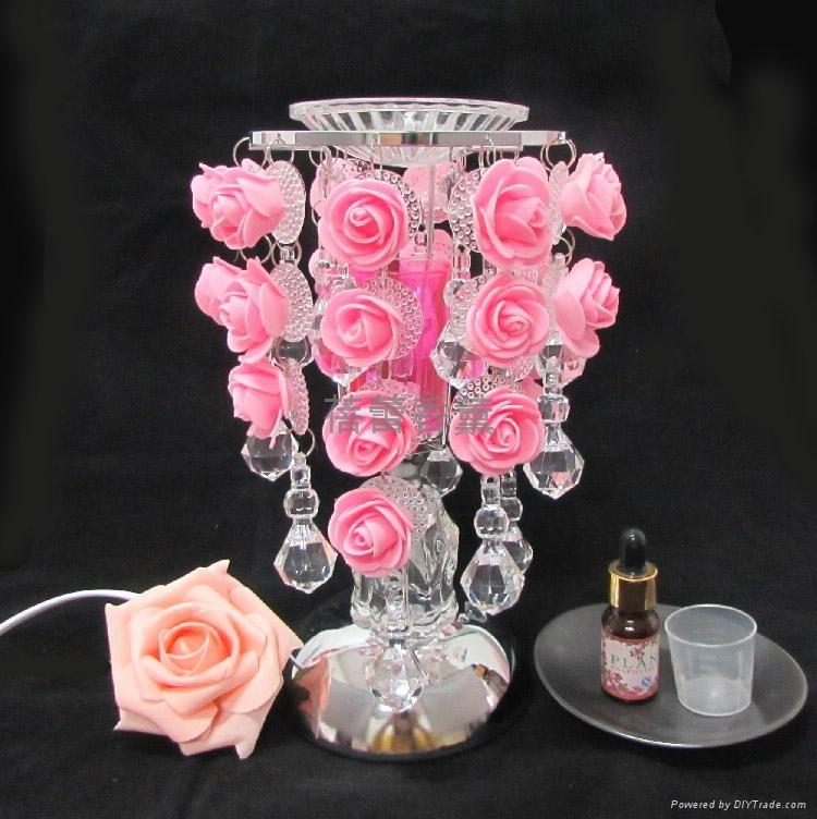 S29水滴玫瑰感應香薰燈 11