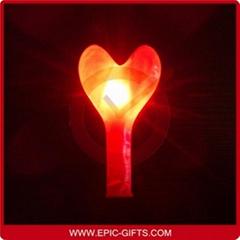 LED heart balloons
