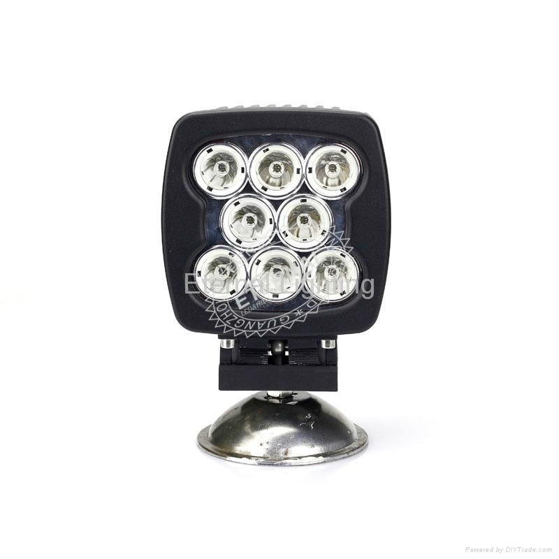80W CREE LED work light for industry heavy duty vehicles 2