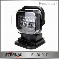 wireless remote LED 50W spotlight for off road truck vehicles