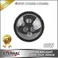"7"" led headlight 75W car automotive"