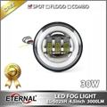 "Jeep JK 07-15 LED fog light 3.5"""