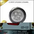 Offroad Jeep Wrangler Rubicon LED tail light run turn reverse brake light JK 07- 3