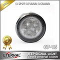 Offroad Jeep Wrangler Rubicon LED tail light run turn reverse brake light JK 07- 5
