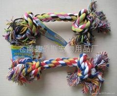 棉绳宠物玩具