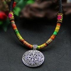 Handmade Ethnic Alloy Necklace