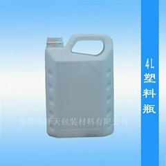 4KG白色塑料桶