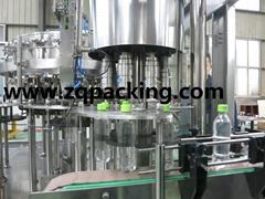 gas beverage filling/carbonated drink filling machine