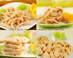 Food Extruder Machine --Textured Soy Protein Soya Nugget Food Processing mach