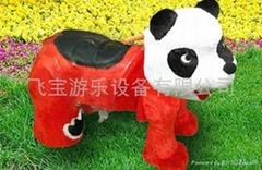 BB熊電動毛絨玩具車