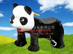 大熊貓動物玩具電動車