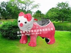 KT貓動物電動玩具車