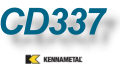 CD337   美國肯納鎢鋼 厚片剋星!