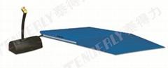 超低型帶斜坡電動昇降平台