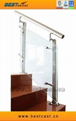 glass balustrade handrail railing Staircase  balcony