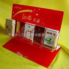 有機玻璃煙酒展示架
