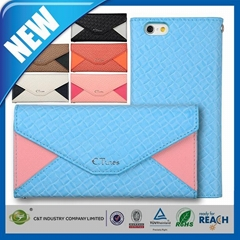C&T Premium Genuine Leather Ultra Slim Sleeve Cover Pouch Case for iPhone 6