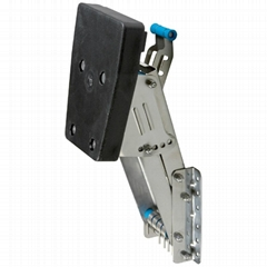 Auxiliary Outboard Bracket-Stainless Steel Body