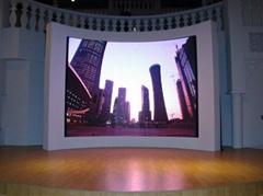 室內全彩LED顯示屏YK-SMD2020-PH4
