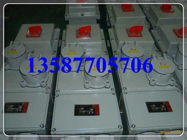 防爆檢修電源插座箱 2