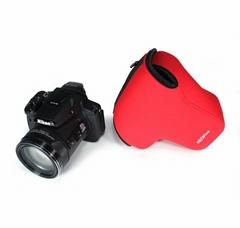 NEOpine Neoprene Telephoto Lens Inner Protective Triangle Bag for Nikon P900s