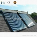 Sunnyrain Solar Keymark SRCC Heat Pipe Solar Collector 1