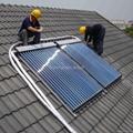 Sunnyrain Solar Keymark SRCC Heat Pipe Solar Collector 4