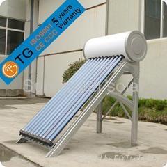 Sunnyrain pressurized solar water heater 1