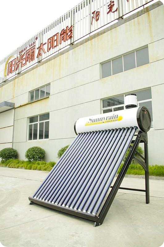 No pressure solar water heater 1