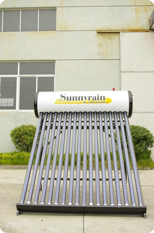 No pressure solar water heater 2
