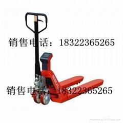 天津电子钢材叉车磅