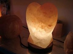 NFSL 01 心脏形状的盐灯