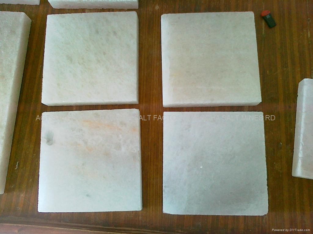 Himalayan Rock Salt Plates (white)