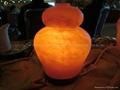 Naturalna lampa solna, sauna solna, pokój sól i sól jadalna