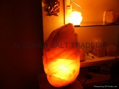 天然岩鹽燈