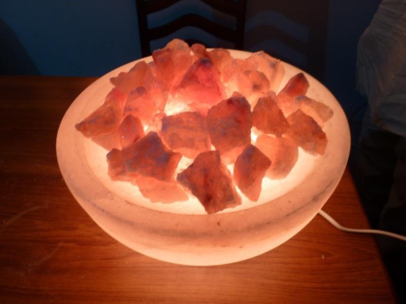 BOWL SALT LAMP 11 INCHES