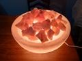 碗鹽燈11英吋