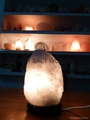 White Rock Salt Lamp 2-3kg 4-6kg -+